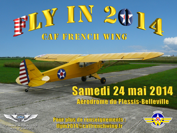 Affiche Fly-In 2014 - Copie