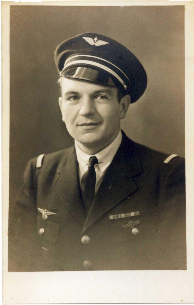 Interview de Monsieur Jean Billaud, FAFL, mitrailleur sur Halifax au Squadron 346