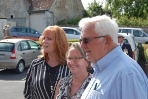 Visite de la famille du 1Lt Marvin Rosvold en Normandie