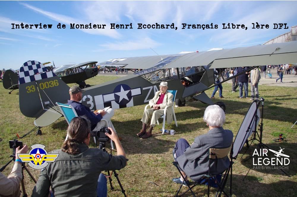 Interview of Henri Ecochard, Free French, Piper L-4 Pilot